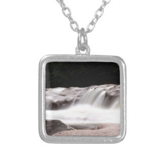 water wonder art silver plated necklace