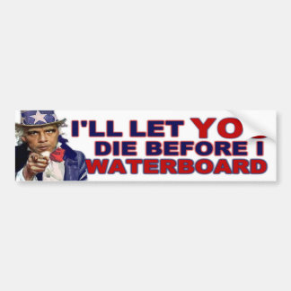 Waterboard or Die Bumper Sticker