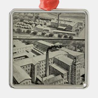 Waterbury Clock Co Metal Ornament