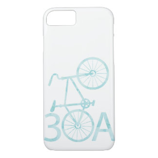 Watercolor 30A with Bike Case