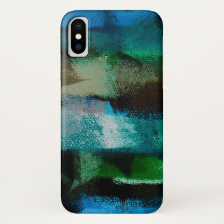 Watercolor Abstract Background #7 iPhone X Case