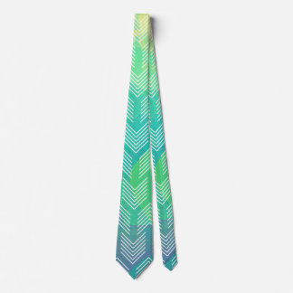 Watercolor Abstract Boho Tribal Chic Arrows Tie