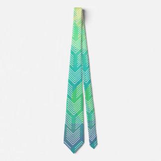 Watercolor Abstract Boho Tribal Chic Arrows Tie