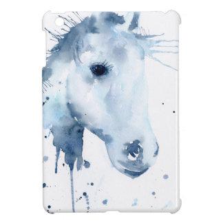 Watercolor Abstract Horse Portrait iPad Mini Cases