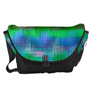 Watercolor Abstract Pattern 10 Courier Bag