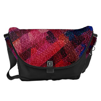 Watercolor Abstract Pattern 4 Messenger Bags