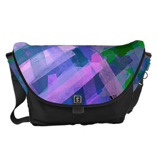 Watercolor Abstract Pattern 6 Messenger Bag