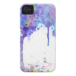 Watercolor Abstract Purple Tree Canopy iPhone 4 Case