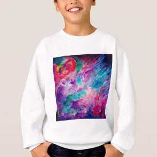 Watercolor Abstract Sea Sweatshirt