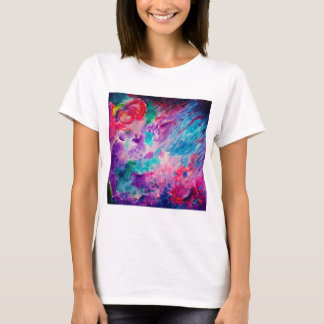 Watercolor Abstract Sea T-Shirt