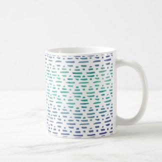 Watercolor Abstract Spring Pattern Coffee Mug