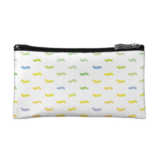 Watercolor Abstract Spring Pattern Cosmetic Bag