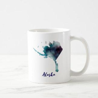 Watercolor Alaska United States Coffee Mug