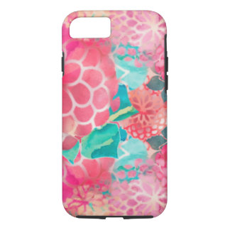 Watercolor Aloha Flowers iPhone 7 Case