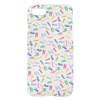 Watercolor alphabet pattern design iPhone 8/7 case