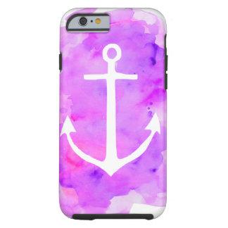 Watercolor Anchor Tough iPhone 6 Case