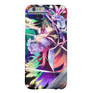 Watercolor Anime Faerie Girl iPhone Barely There iPhone 6 Case