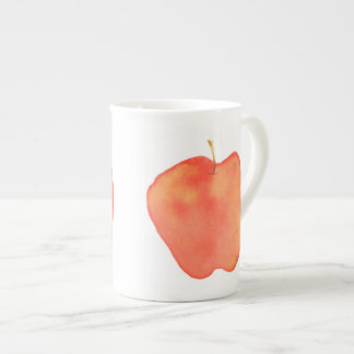 Watercolor Apple Tea Cup