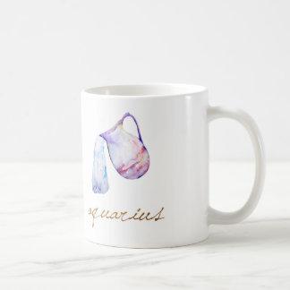 Watercolor Aquarius Water Bearer Coffee Mug