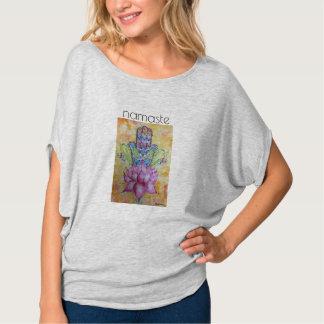 Watercolor Art Namaste Women's Shirt