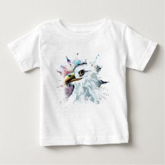 Watercolor Bald Eagle Baby T-Shirt
