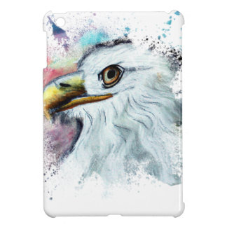 Watercolor Bald Eagle iPad Mini Cover