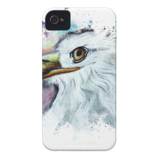 Watercolor Bald Eagle iPhone 4 Covers