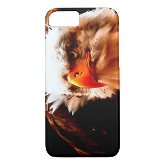 Watercolor Bald Eagle iPhone 7 Case