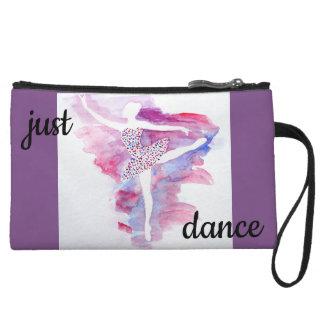 Watercolor Ballerina Clutch