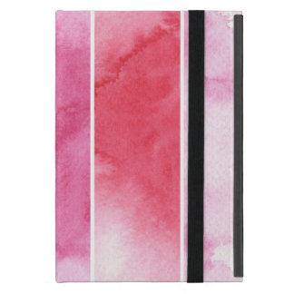 watercolor banners background for your design iPad mini case