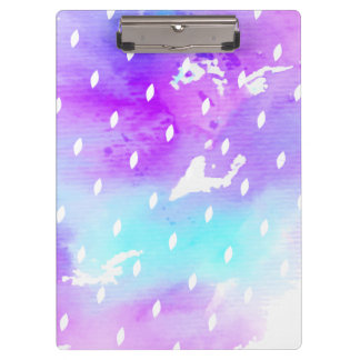 Watercolor Believe in Your Dreams Quote Clipboard