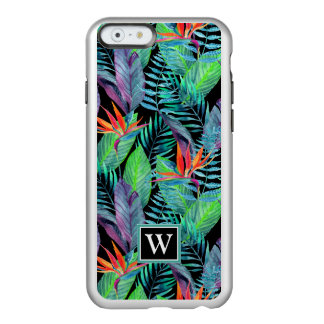 Watercolor Bird Of Paradise | Add Your Initial Incipio Feather® Shine iPhone 6 Case
