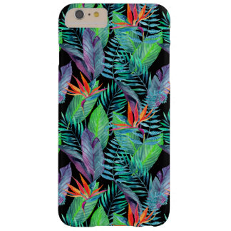 Watercolor Bird Of Paradise Barely There iPhone 6 Plus Case