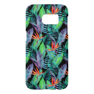 Watercolor Bird Of Paradise Samsung Galaxy S7 Case