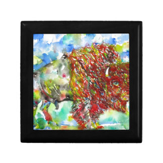 watercolor BISON .1 Gift Box