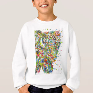 watercolor BISON .2 Sweatshirt