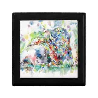 watercolor BISON .3 Gift Box