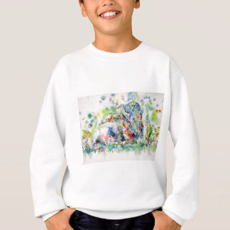 watercolor BISON .3 Sweatshirt