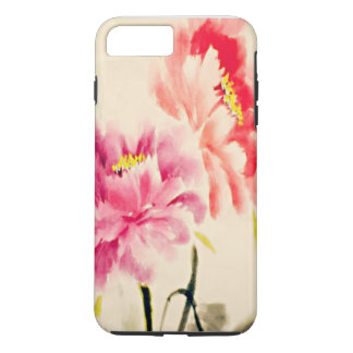 Watercolor Blooms iPhone 7 Plus Case