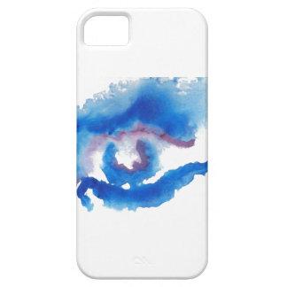 Watercolor Blue Eye CricketDiane Art iPhone 5 Case
