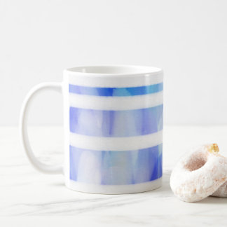 Watercolor Blue Mug