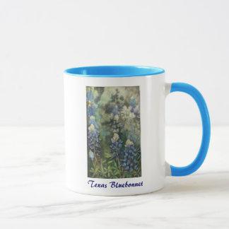 Watercolor Bluebonnets Mug