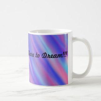 Watercolor Blues Dare to Dream Coffee Mug