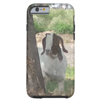 Watercolor Boer Goat Tough iPhone 6 Case