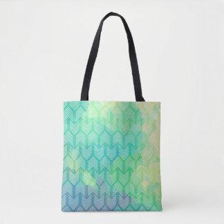 Watercolor Boho Tribal Chic Arrows Tote Bag