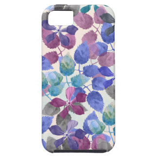 watercolor Botanical garden II Case For The iPhone 5