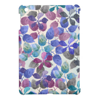 watercolor Botanical garden II iPad Mini Cover