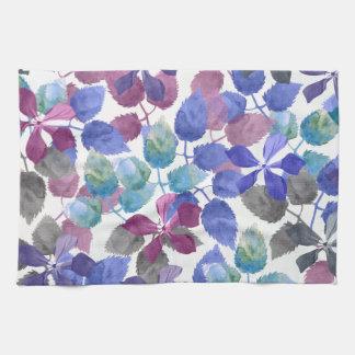 watercolor Botanical garden II Kitchen Towel