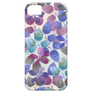 watercolor Botanical garden IV iPhone 5 Covers