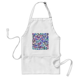watercolor Botanical garden IV Standard Apron